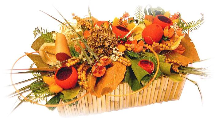 Pohřební služba JKAS Třebíč - květinová vazba