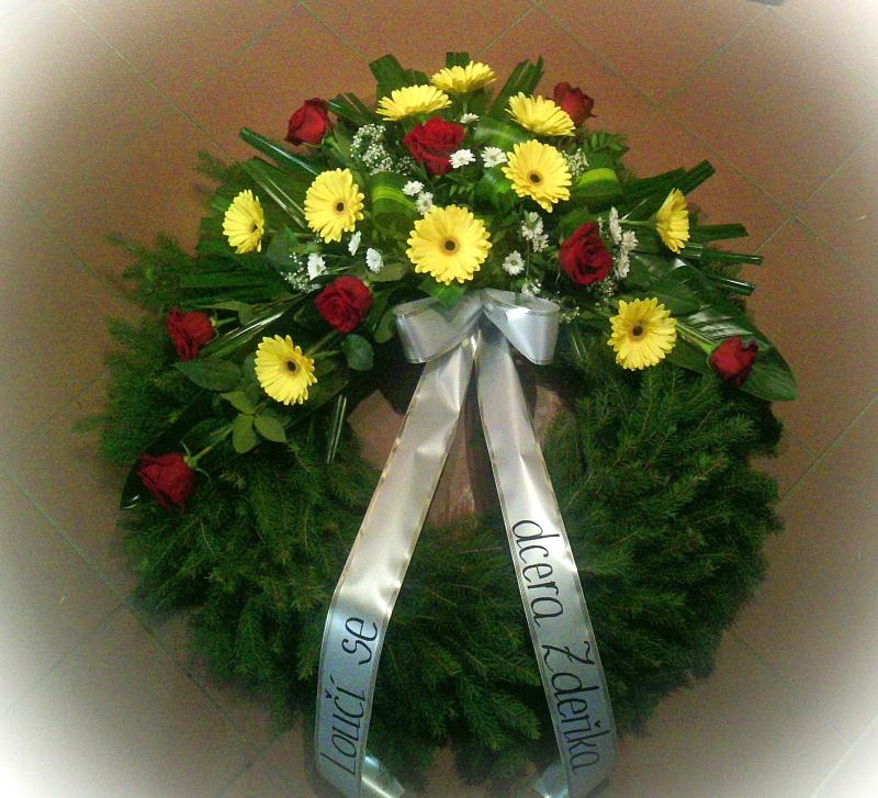 Pohřební služba Třebíč venec-rostly-11