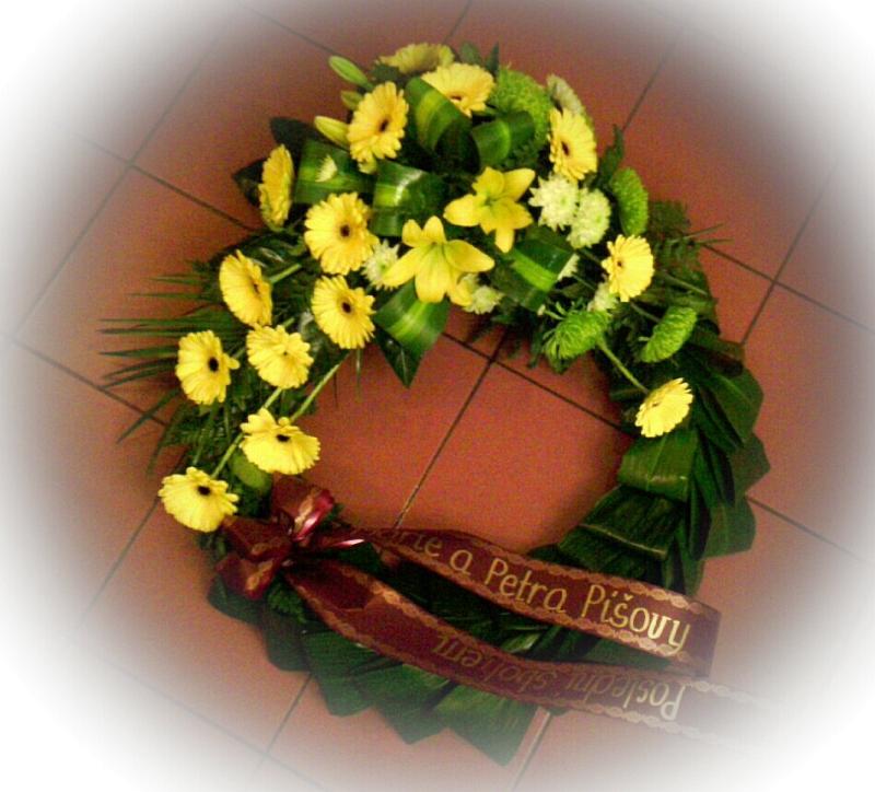 Pohřební služba Třebíč venec-rostly-2