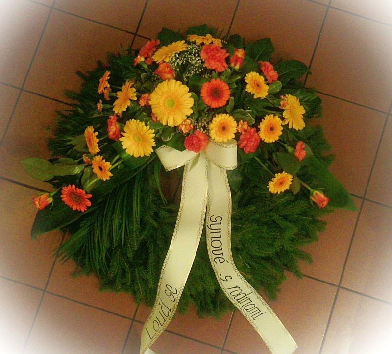 Pohřební služba Třebíč venec-rostly-7